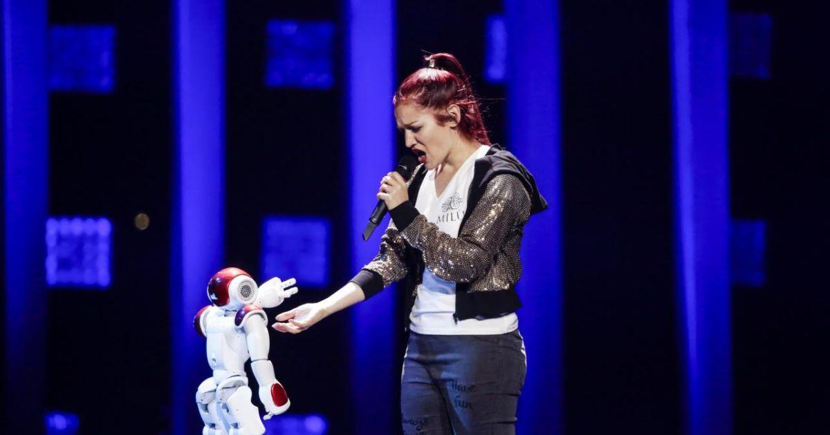 Участница от Сан-Марино @ vk.com/eurovision_ua