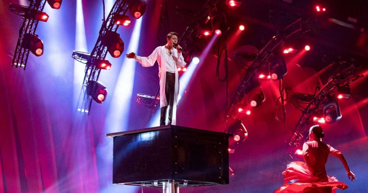 Участник от Беларуси @ vk.com/eurovision_ua