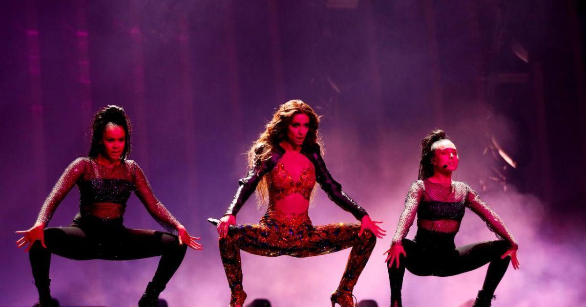 Участница от Кипра @ vk.com/eurovision_ua