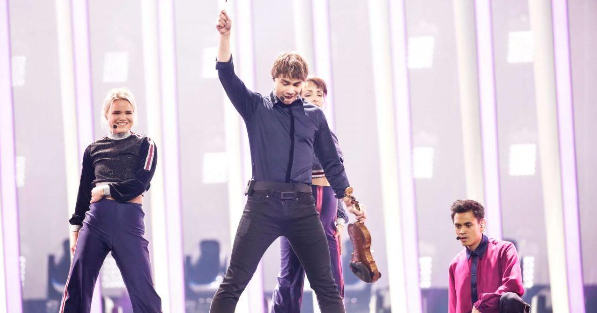 Участник от Норвегии @ vk.com/eurovision_ua