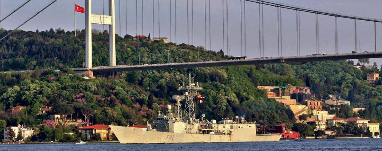 Військовий корабель Нідерландів планує зайти у Чорне море