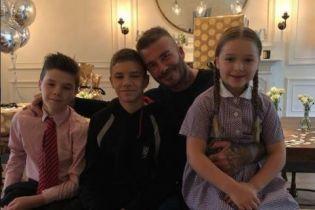 Семья Бекхэмов трогательно поздравила Дэвида с днем рождения