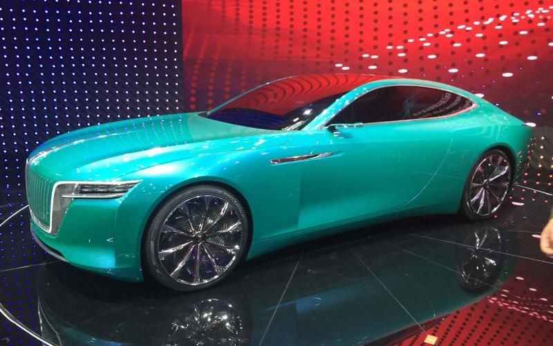 Hongqi E-Jing GT Concept, концепт-кар, автосалон, Пекин