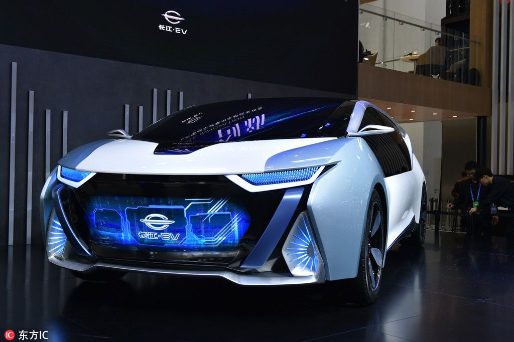 Changjiang EV, концепт-кар, автосалон, Пекин