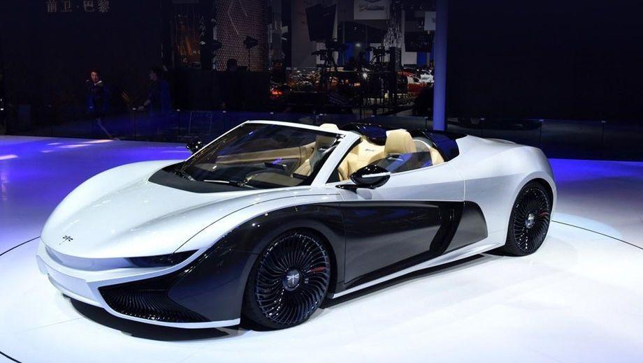 Qiantu Concept One, концепт-кар, автосалон, Пекин