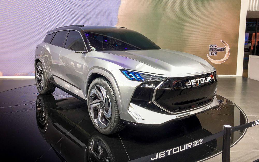 Jetour X, концепт-кар, автосалон, Пекин