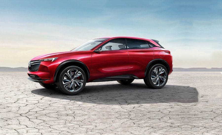Buick Inspire, концепт-кар, автосалон, Пекин