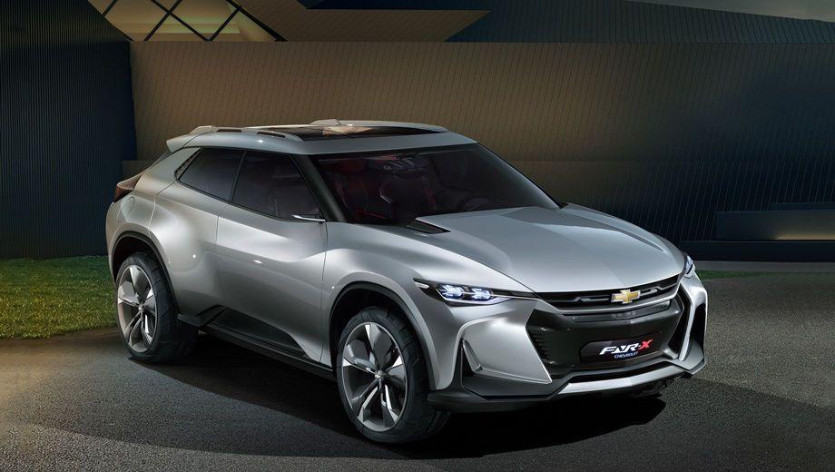 Chevrolet FNR-X, концепт-кар, автосалон, Пекин