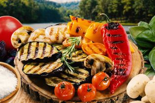 Овочі-гриль: дуже простий рецепт