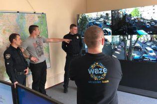 Поліцію підключили до навігатора Waze. Ситуація на дорогах Києва буде більш актуальною