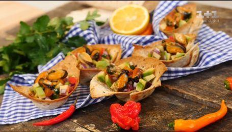 Закуска з мідіями – рецепти Сенічкіна