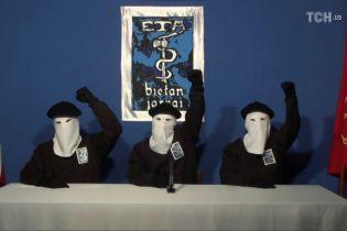 Терористи ETA оголосили про саморозпуск. Влада Іспанії вимагає покарання басків за злочини