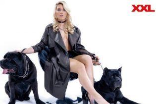 Минимум одежды и без сабли. Лучшая фехтовальщица Украины Харлан разделась для мужского глянца