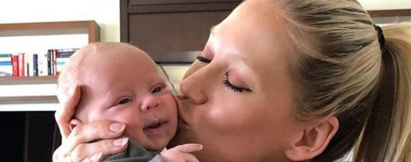 Курнікова вперше показала фото себе вагітної