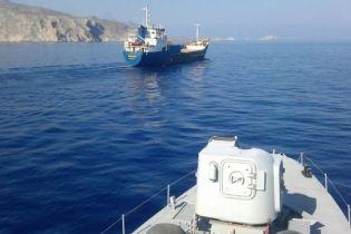 В Эгейском море турецкое судно протаранило греческий корабль
