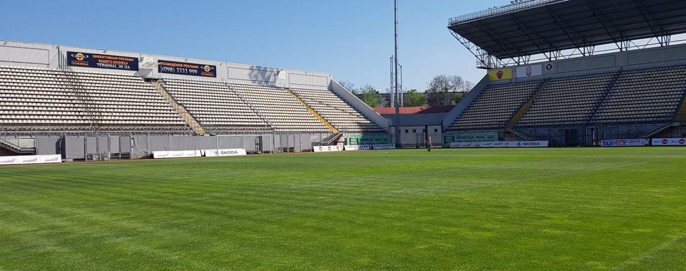 """""""Зоря"""" заявила стадіон у Запоріжжі на поєдинки Ліги Європи"""
