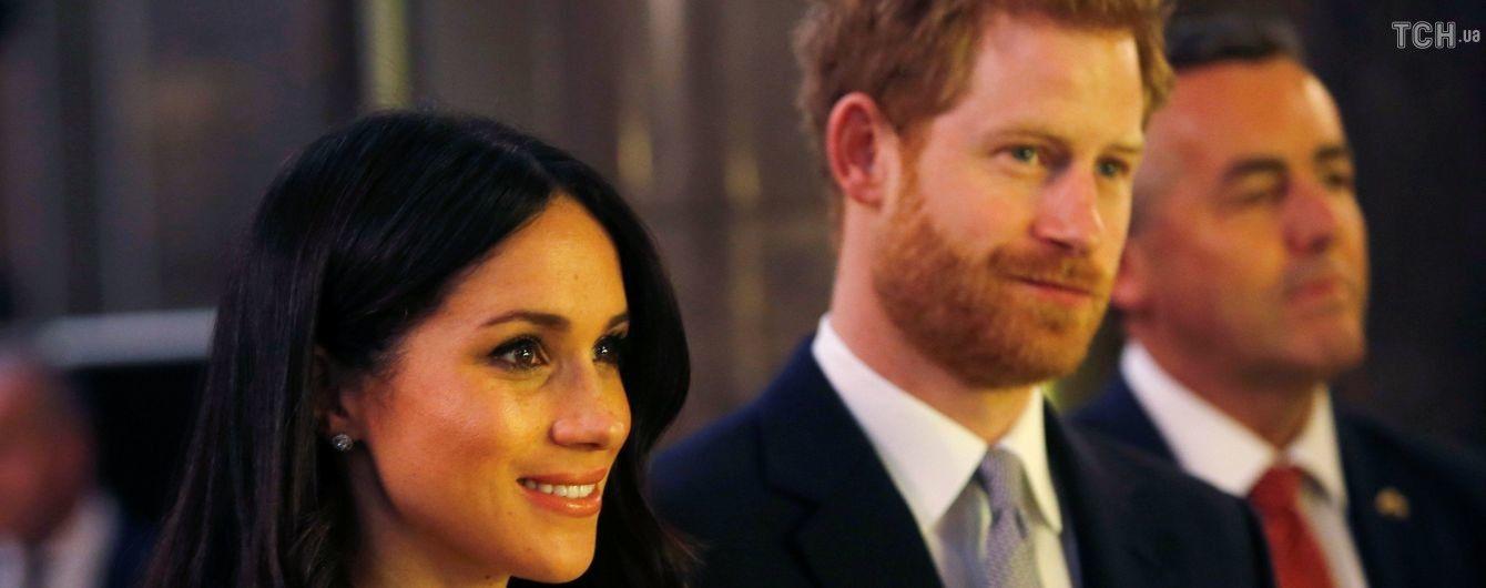 Гостей на весіллі принца Гаррі та Меган Маркл попросили брати їжу з собою