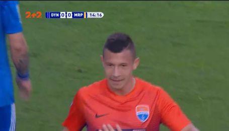 Динамо - Мариуполь - 0:1. Видео гола Борячука
