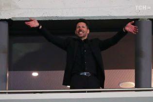 """Тренер """"Атлетіко"""" дискваліфікований на фінал Ліги Європи за образу арбітра"""