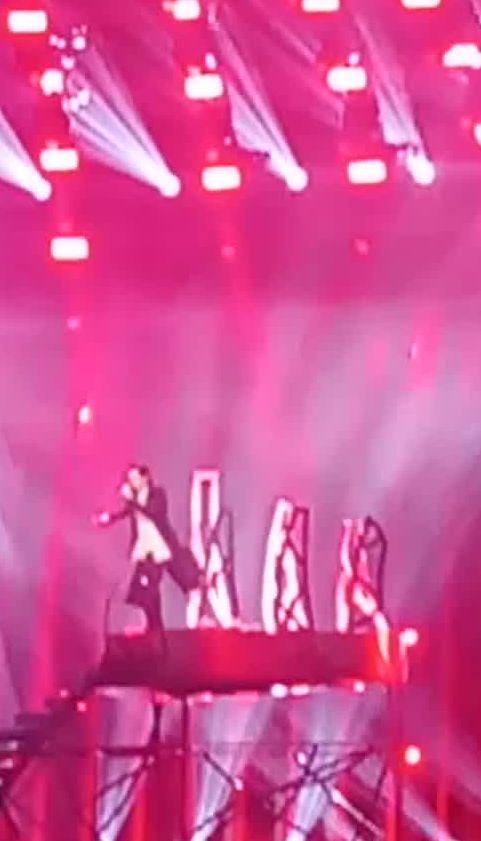 """Відео другої репетиції MELOVIN на """"Євробаченні-2018"""""""