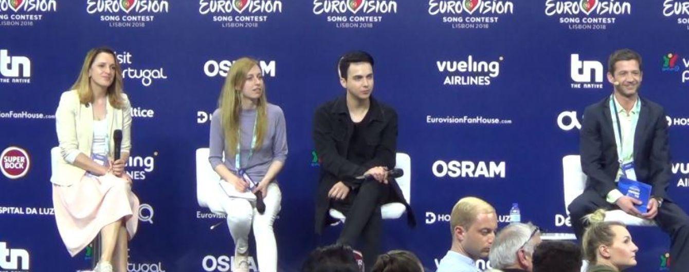 """MELOVIN объяснил, зачем лег в гроб на сцене """"Евровидения-2018"""""""