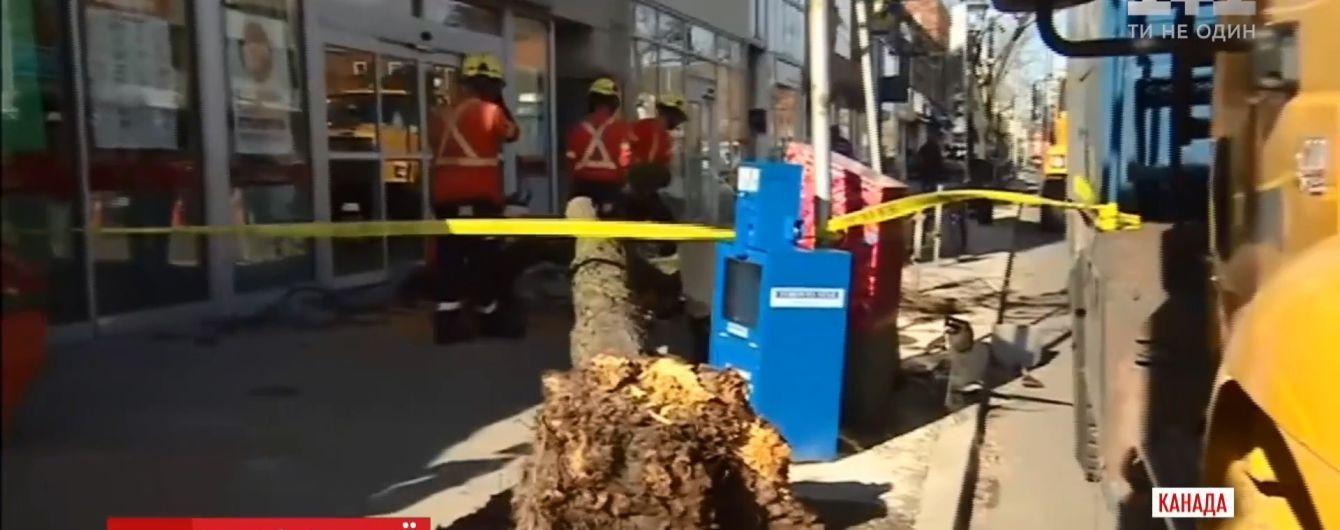 Ураганный ветер убил двух человек в Канаде