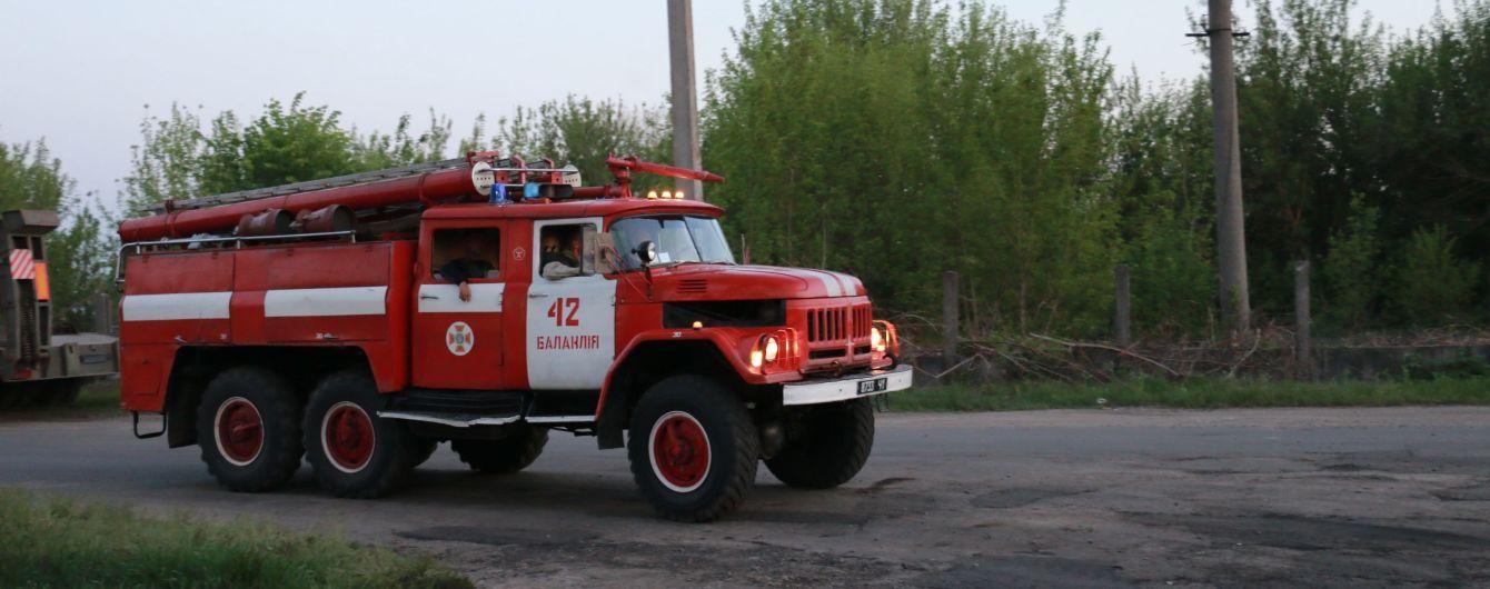 В Балаклее локализовали пожар на территории воинской части