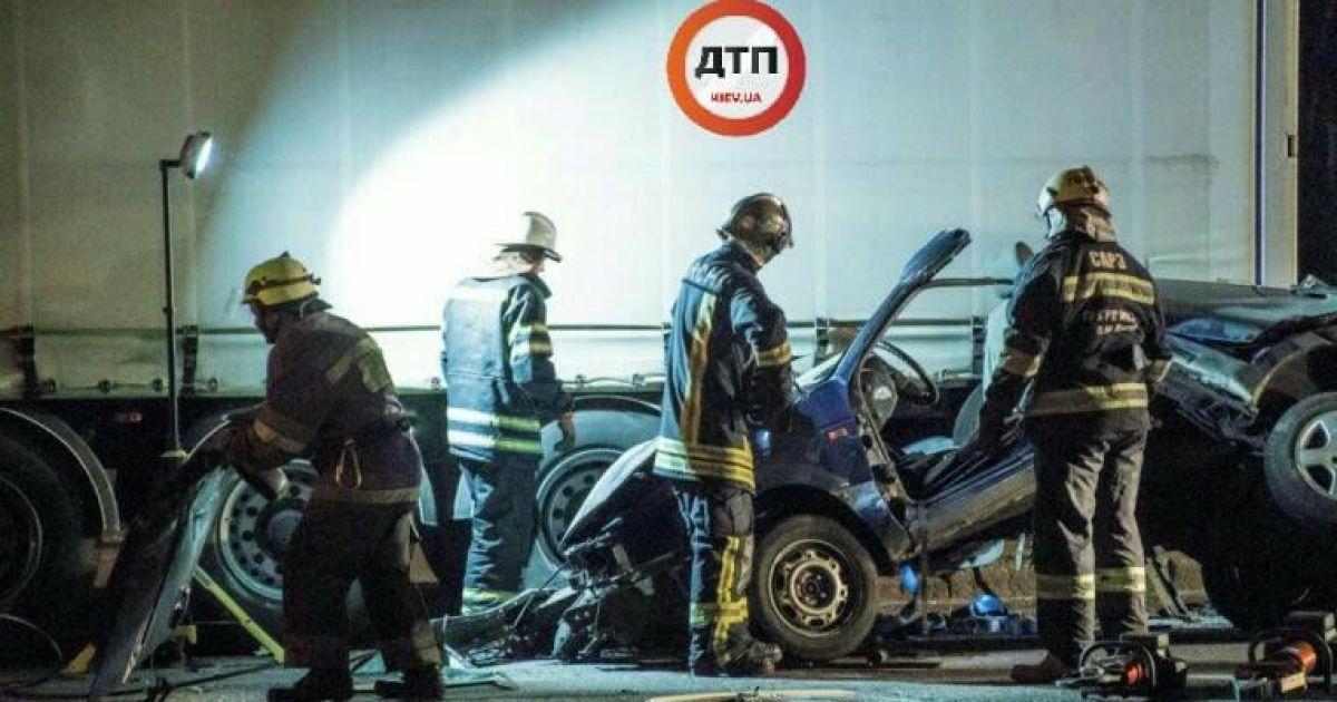 Фото з місця аварії @ dtp.kiev.ua