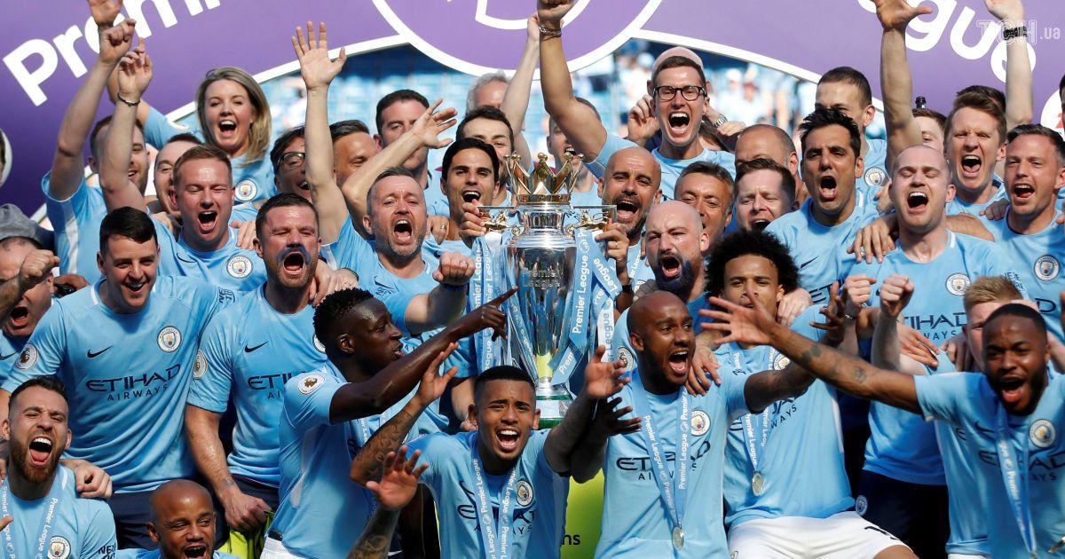 """""""Манчестер Сіті"""" нагородили за перемогу в Прем'єр-лізі"""