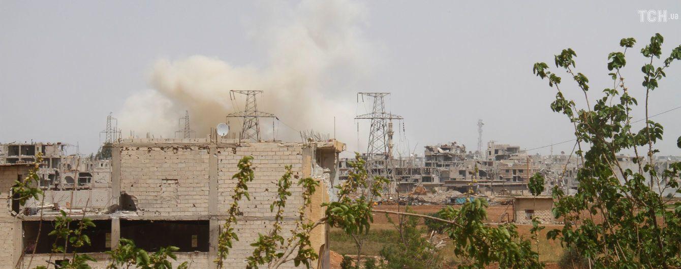 Сирийская армия заявила об отражении авиаудара Израиля