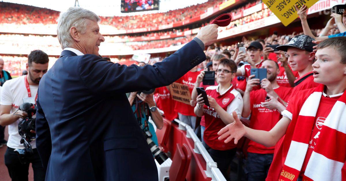 Арсен Венгер провел церемонию прощания с клубом