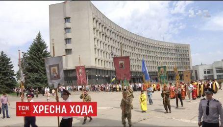 В Сумах организовали крестный ход в поддержку автокефалии Украинской православной церкви