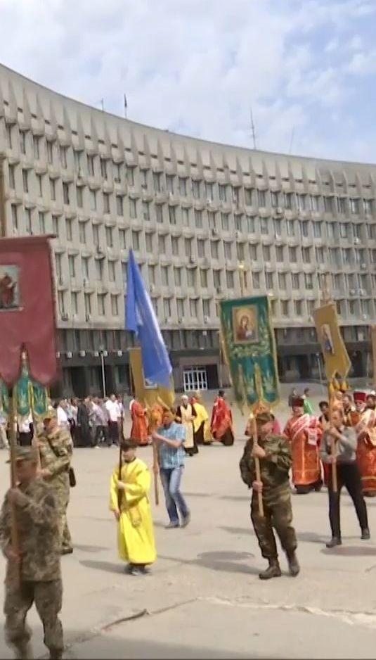 У Сумах організували хресний хід на підтримку автокефалії української православної церкви