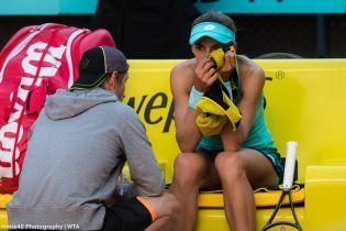 Цуренко снялась с US Open