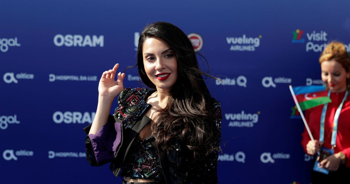 Представительница Азербайджана @ eurovision.tv