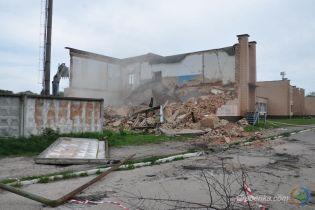 На Полтавщині завалилася будівля спорткомплексу