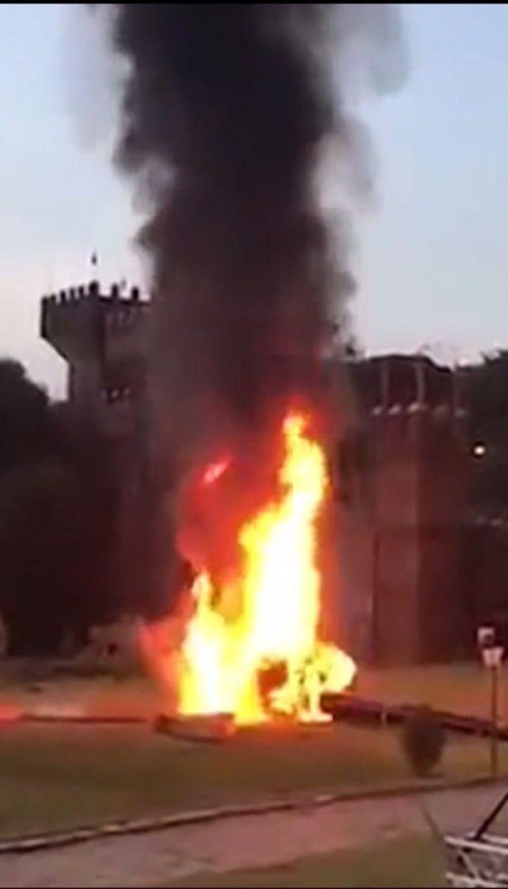В бразильском штате Сан-Паулу упал вертолет с невестой