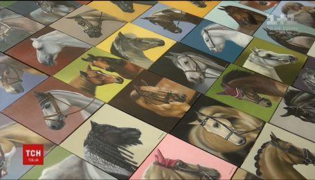 Сумська художниця створила 365 картин коней за 365 днів