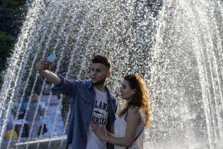 Синоптики зафіксували найспекотніший день літа 2018 у Києві