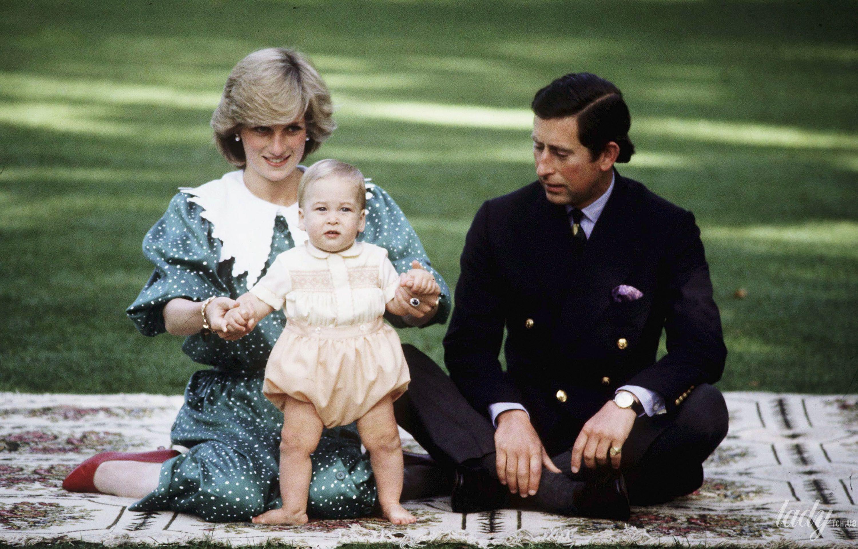 Принцесса Диана и принц Уильям_1