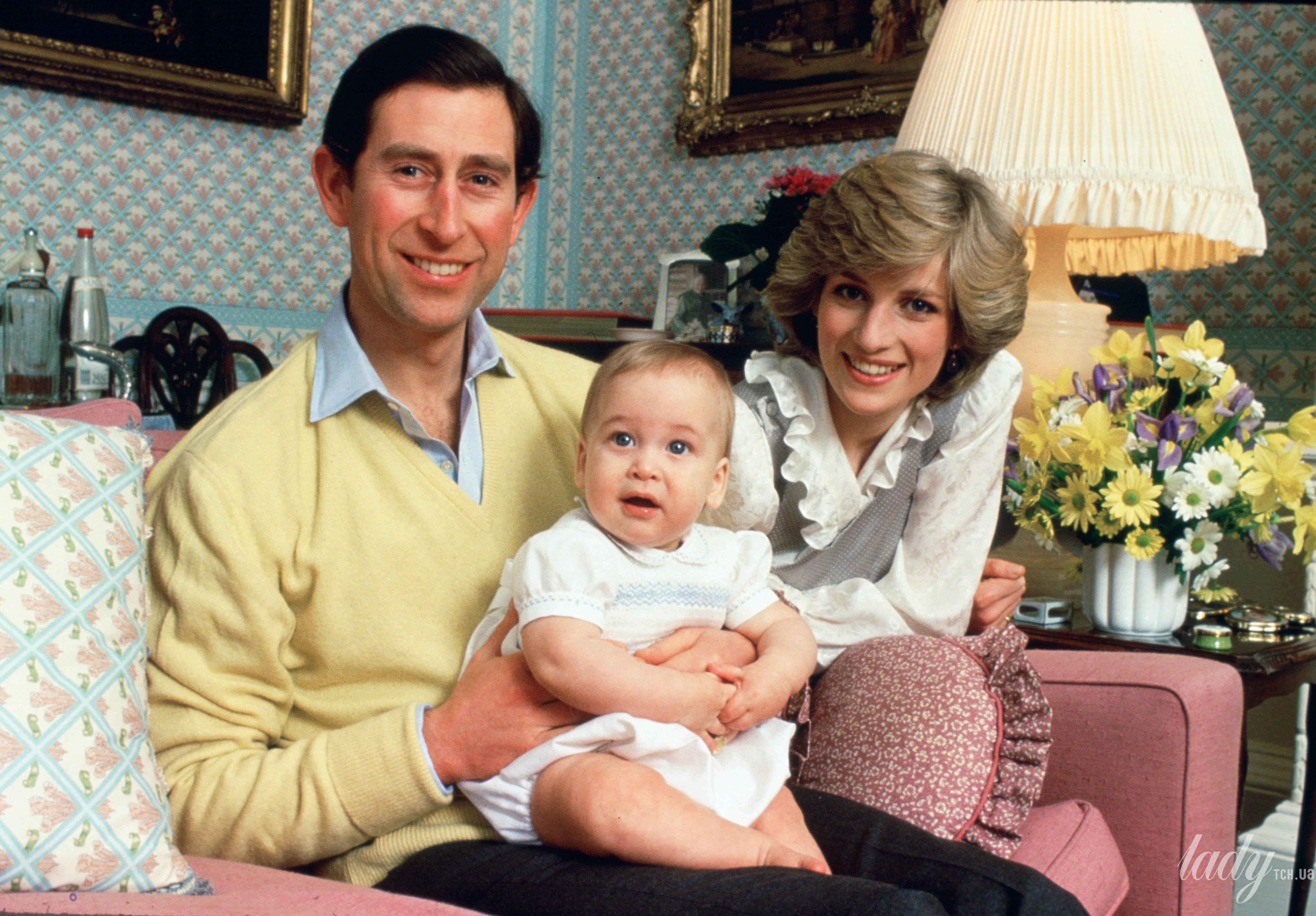 Принцесса Диана и принц Уильям_2