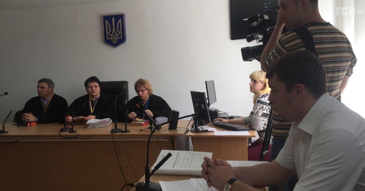 Суд у справі Лусваргі @ Ольга Павловська/ТСН