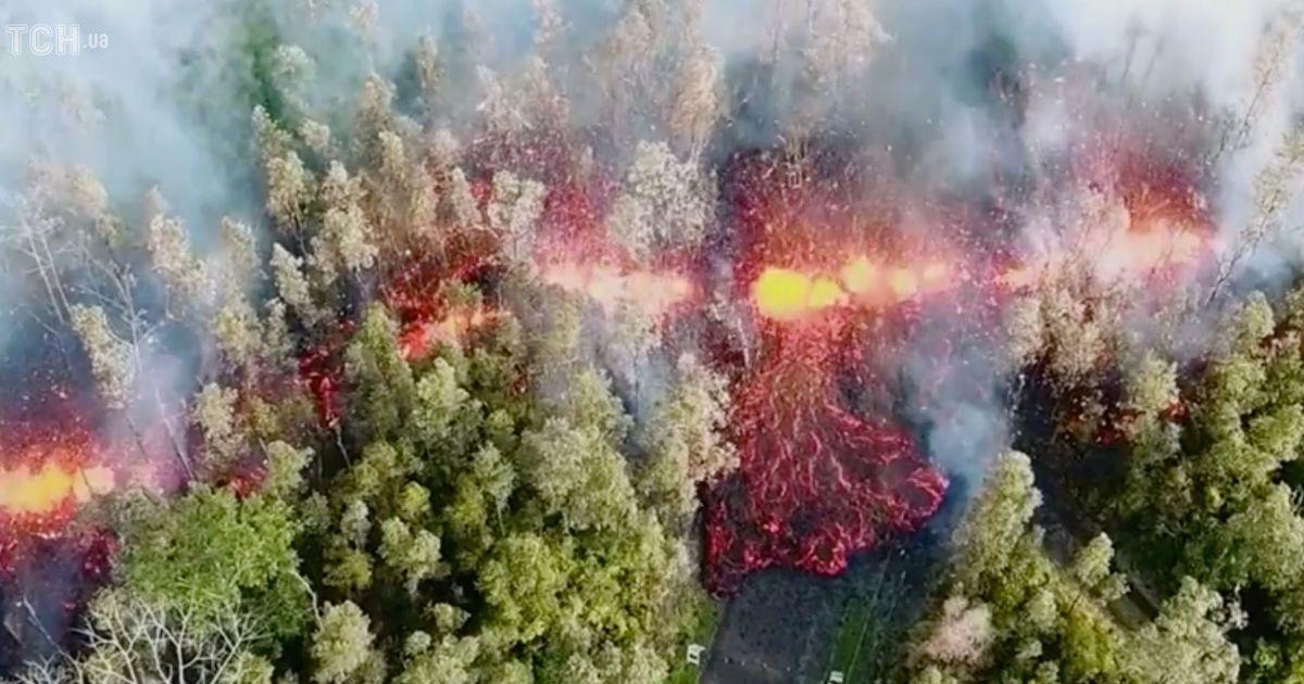 Виверження найактивнішого вулкана в світі
