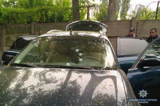 Полиция открыла уголовное производство из-за обстрела Infiniti в центре Киева