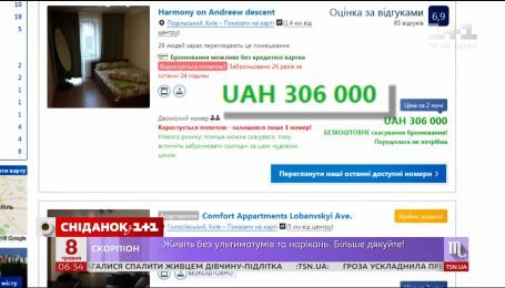 Британські фанати обурені вартістю цін проживання в київських готелях