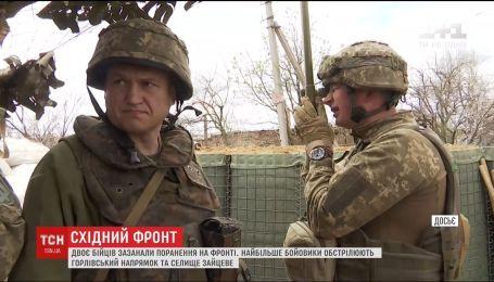 Бойовики двадцять разів обстріляли українські позиції з забороненого калібру