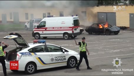 Правоохранители продемонстрировали, как будут обеспечивать спокойствие во время Лиги чемпионов