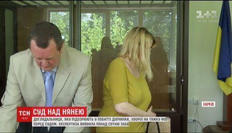 В Харькове няня, которая била девочку с ДЦП, предстала перед судом