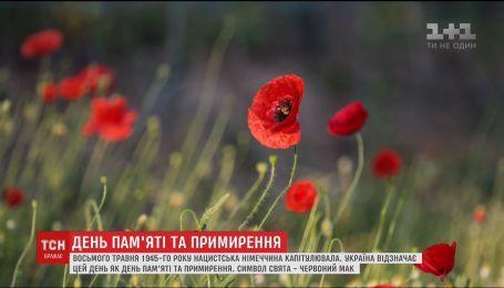 Історія виникнення символу Дня пам'яті та примирення червоного маку