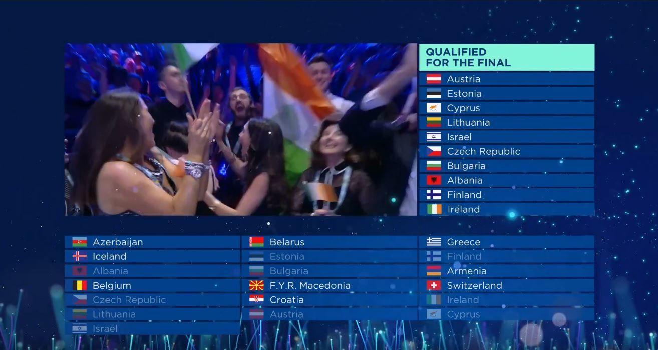 """""""Євробачення-2018"""" перший півфінал"""